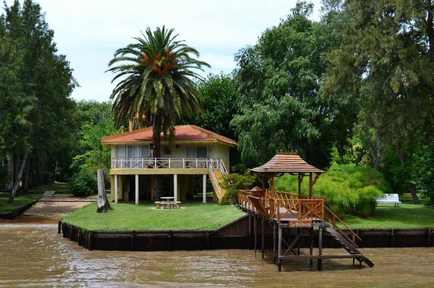 Stelzenhaus im Delta