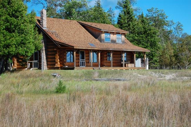 Haus aus Bois Blanc Island
