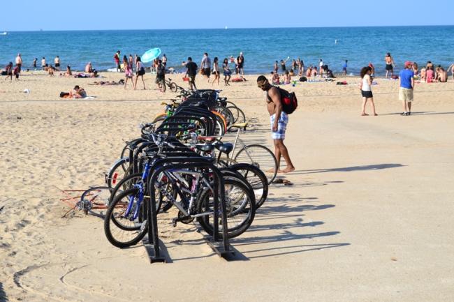 Radfahren in Chicago