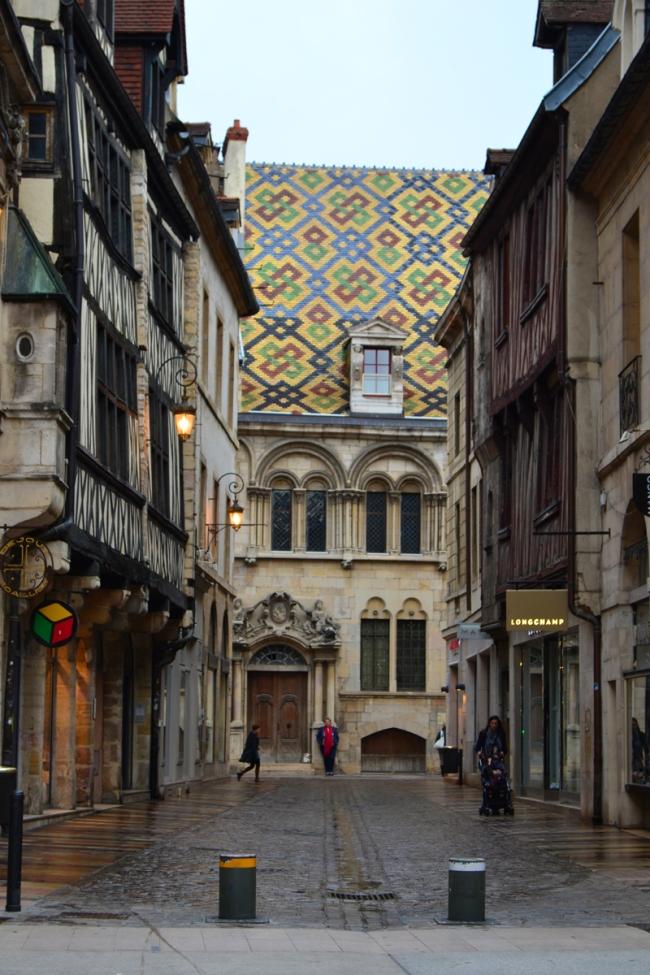 Farbige Dächer Dijon