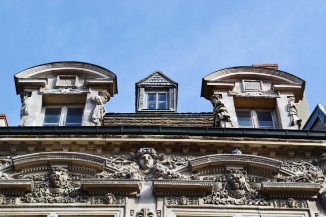 Hausfassaden Dijon