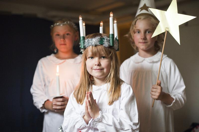 Lucia-Fest in Schweden