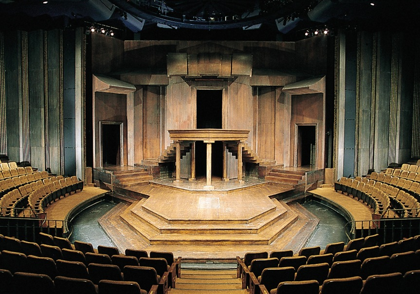 Bühne im Festival-Theater (Copyright Stratford Festival).