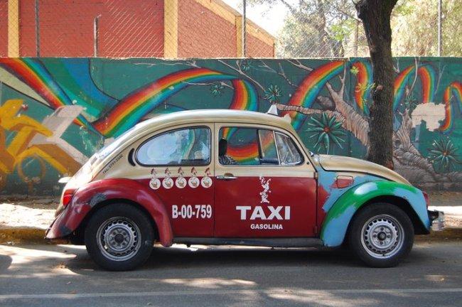 Taxi Mexiko