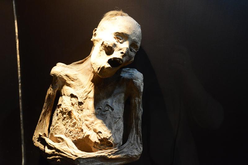 Mumien in Guanajuato