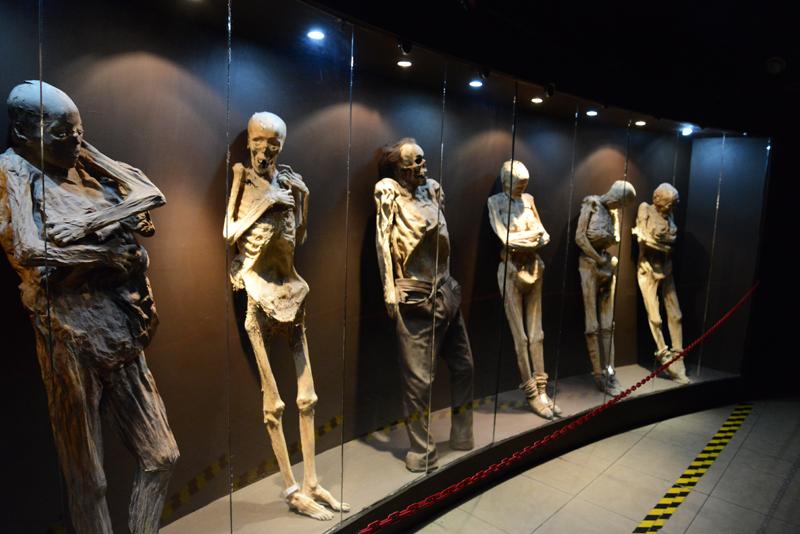 Mumien von Guanajuato.