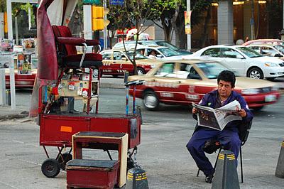 ¿Adónde va el Taxi? Traue keinem Taxifahrer in Mexiko-Stadt beiNacht!