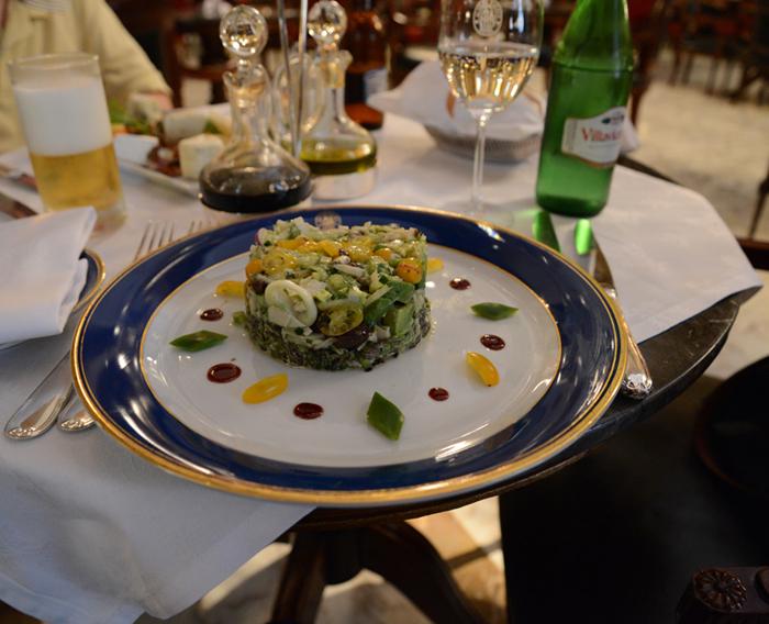 Vegetarisch essen in der Hauptstadt derSteaks