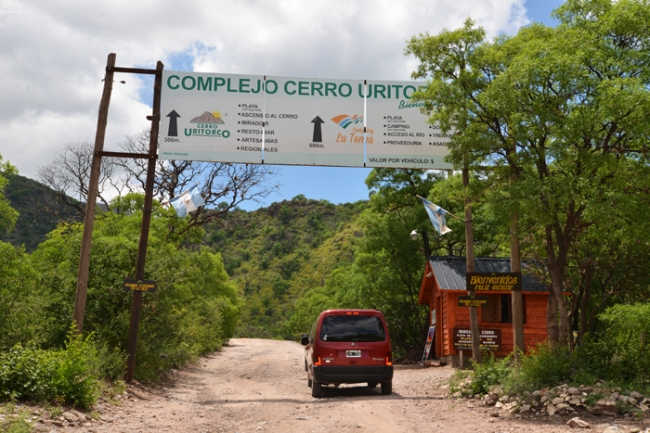 Der Zugang zum Cerro Uritorco.