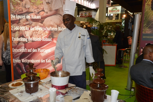 Schokolade von der Elfenbeinküste.