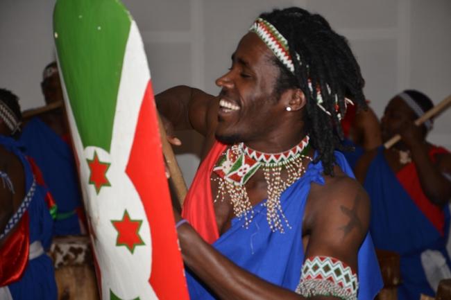 Tänzer aus Burundi.