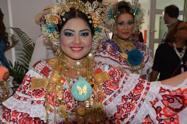 Tänzerin aus Panama.
