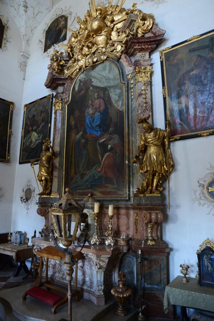 Die kleine Kapelle von Schloss Leopoldskron.
