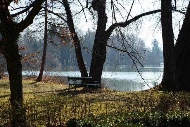 Park Schloss Leopoldskron.