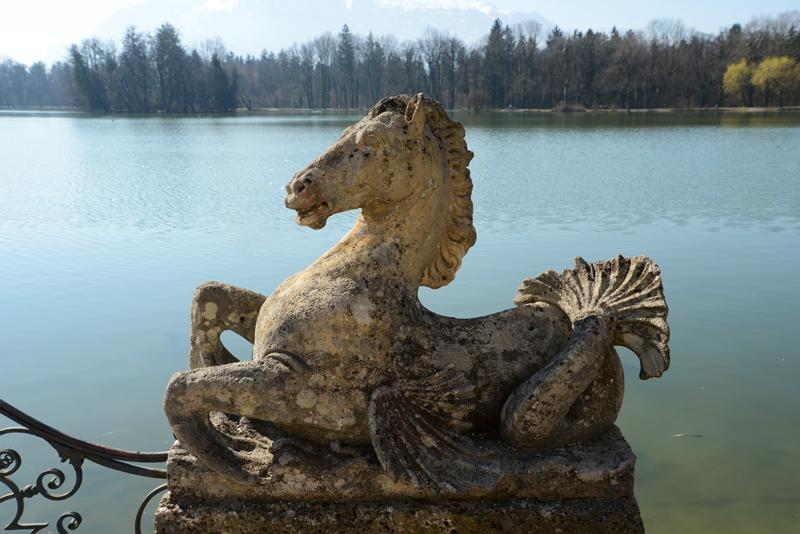 Skulptur im Park Leopoldskron