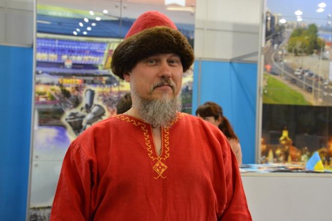 Ukrainische Tracht.