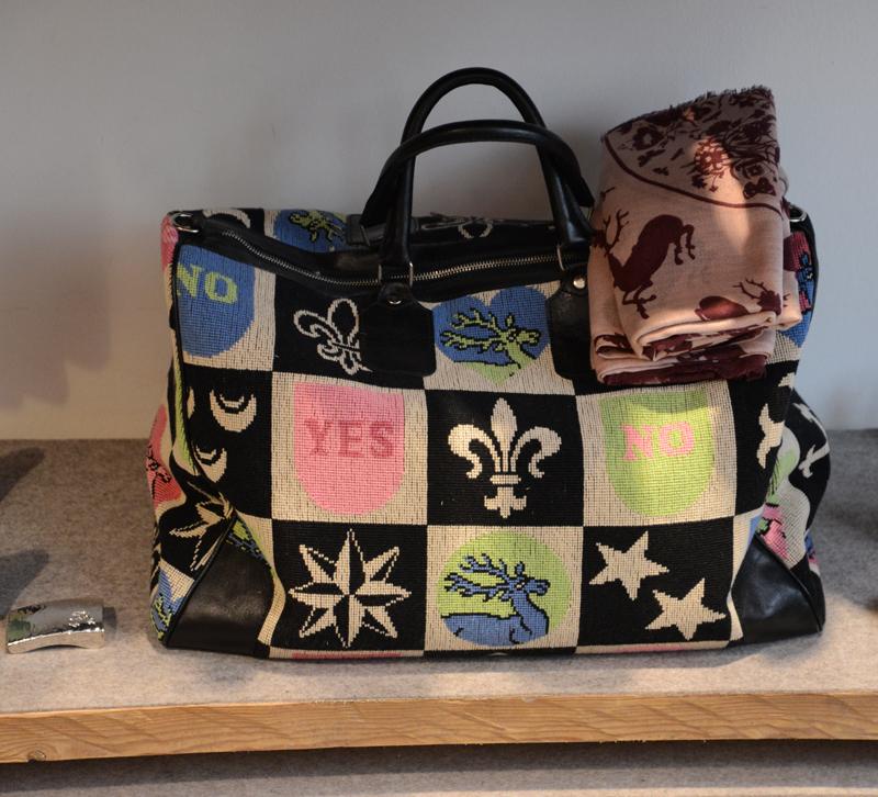 Modische Trachtentasche von Andrea Eberle.