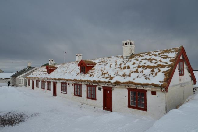 Museum auf der Festung Vardøhus.