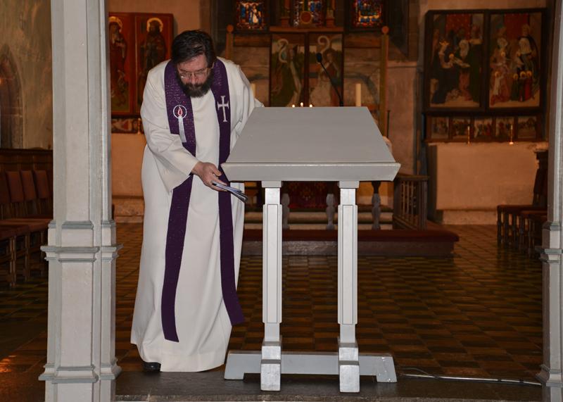 Pfarrer Niels Hjort.