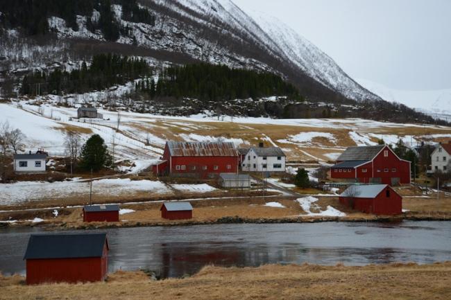 Landschaft der Vesterålen.