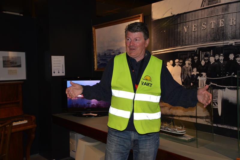 Direktor des Hurtigrutenmuseums Sten Engen.