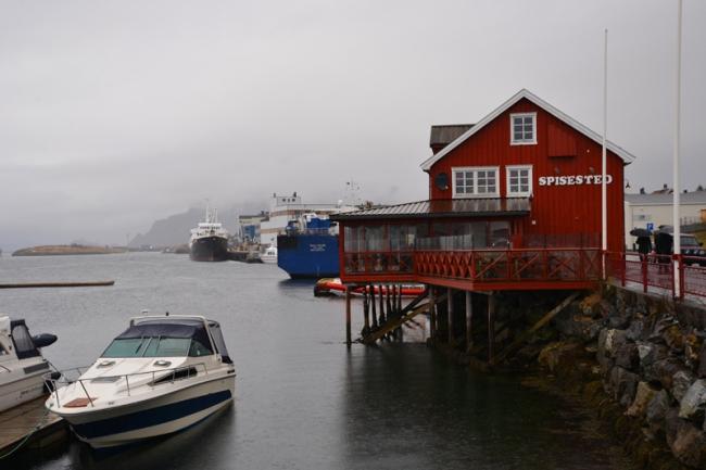 Hafen von Brønnøysund.