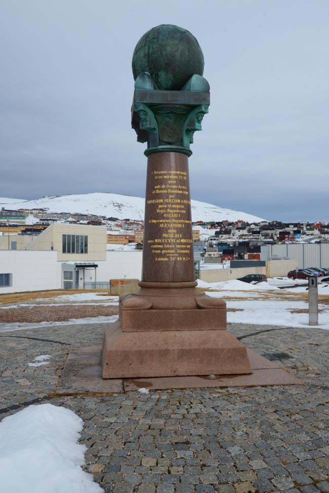 Meridian in Hammerfest.