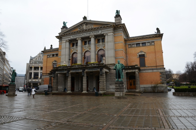 Nationaltheater Oslo.