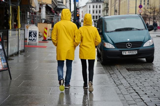 Regen in Oslo