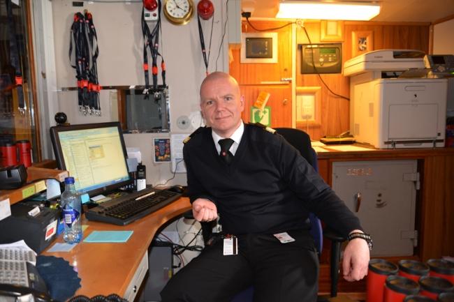 Rezeptionschef Snorre Pedersen.