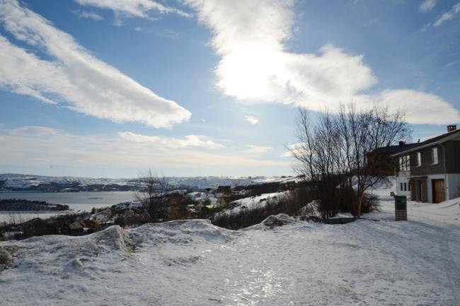Umgebung in Kirkenes.