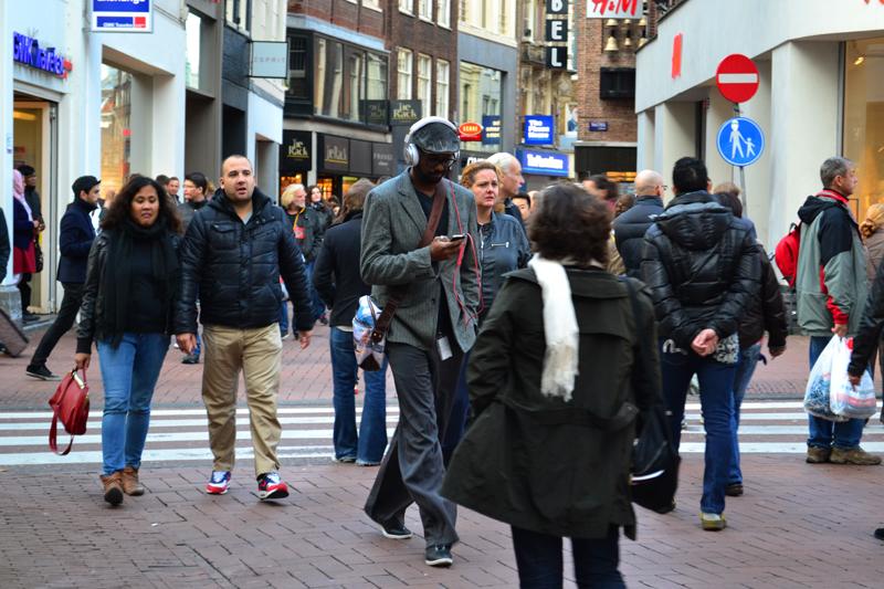 Multikulturelles Amsterdam.