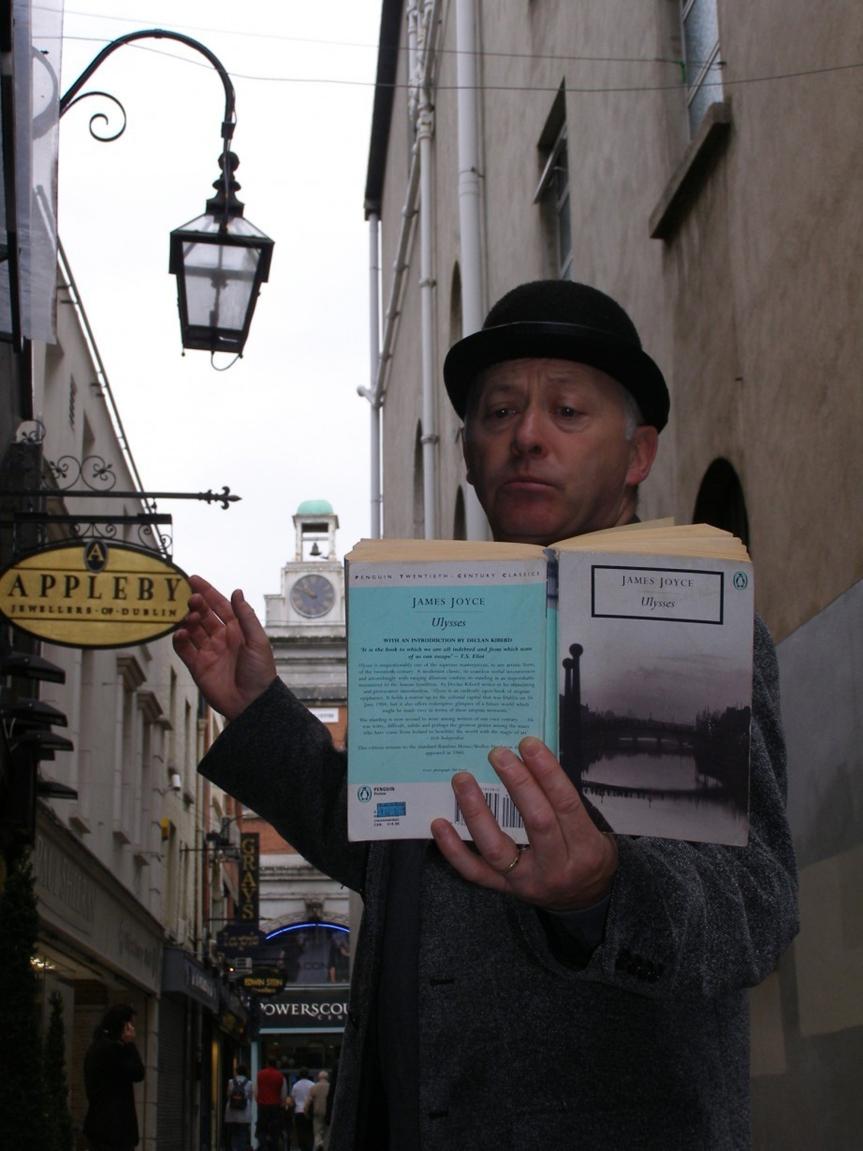 Bloomsday in Dublin: Feiern im Namen einerRomanfigur