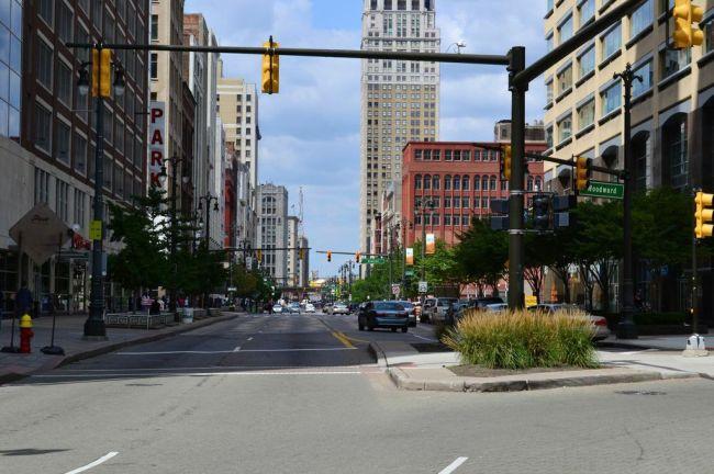 Woodward Avenue, Detroit.