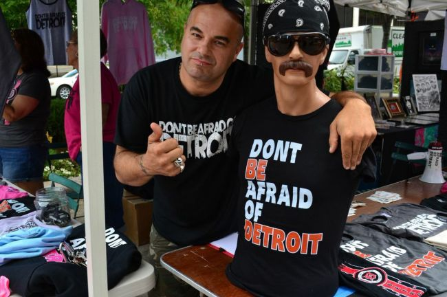 Salvatore Aiello - Don't be afraid of Detroit.