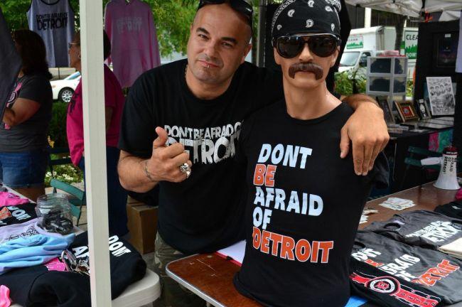 Salvatore Aiello - Don't be afraid of Detroit.