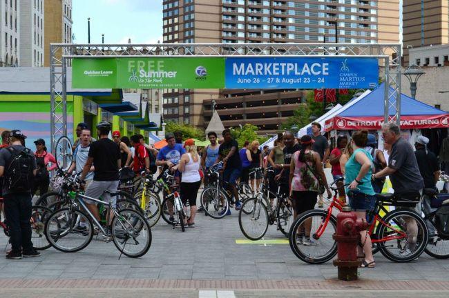 Campus Martius Market.