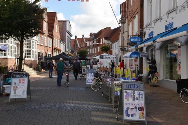 Shopping Street in Tønder.