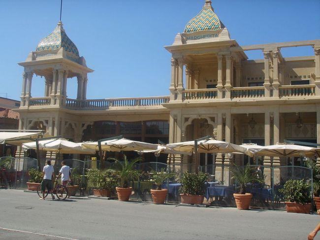 Hotel Liberty in Viareggio.