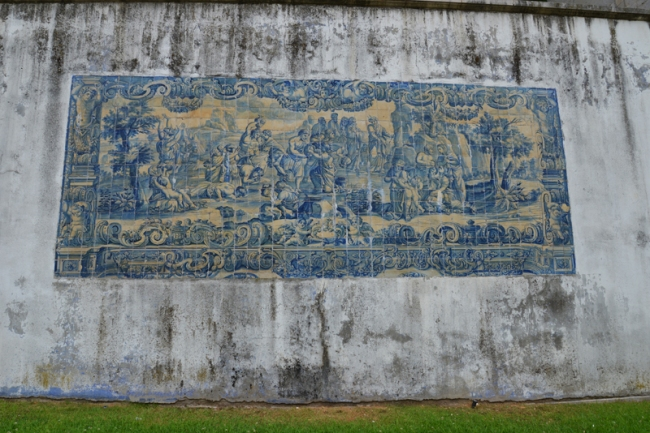Die ältesten Kacheln Lissabons.