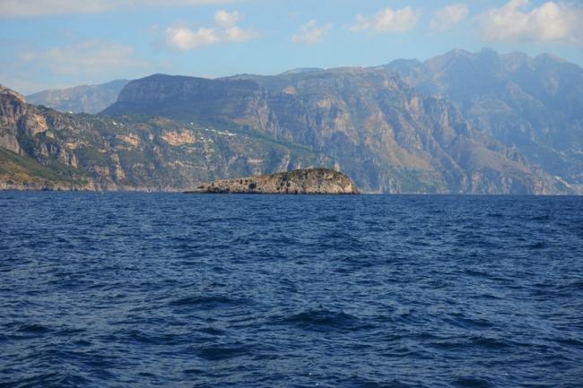 Die kleine Isola d'Isca.