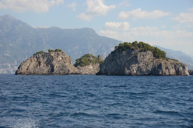 Die Inselgruppe Li Galli.
