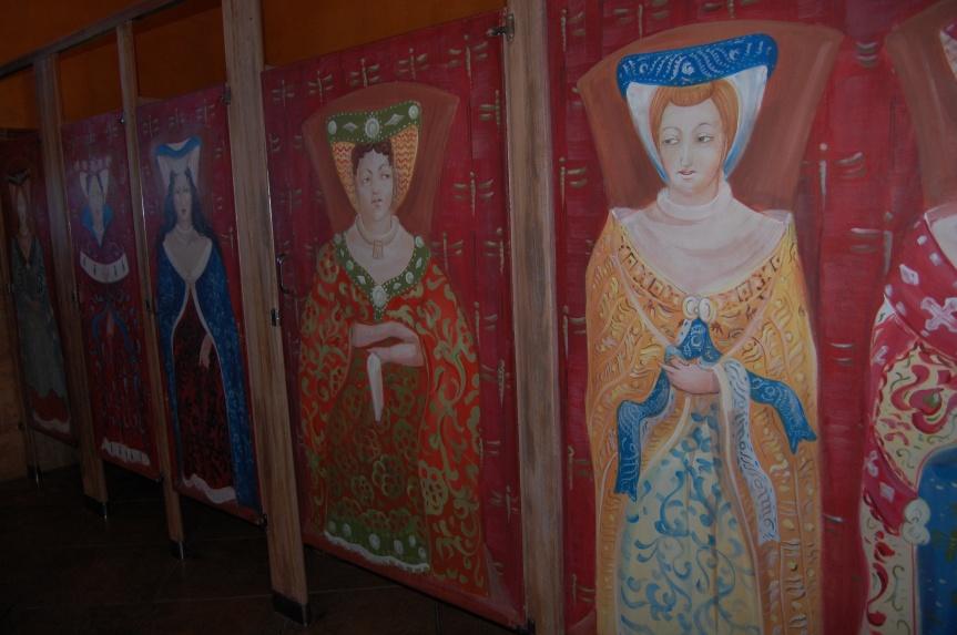 Toiletten Castello di Amorosa