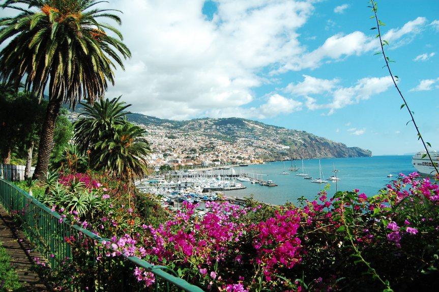 Madeira -vier Jahreszeiten an einemTag