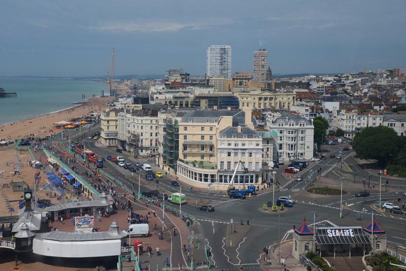 Brighton von oben