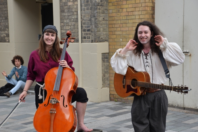 Strassenmusiker Brighton