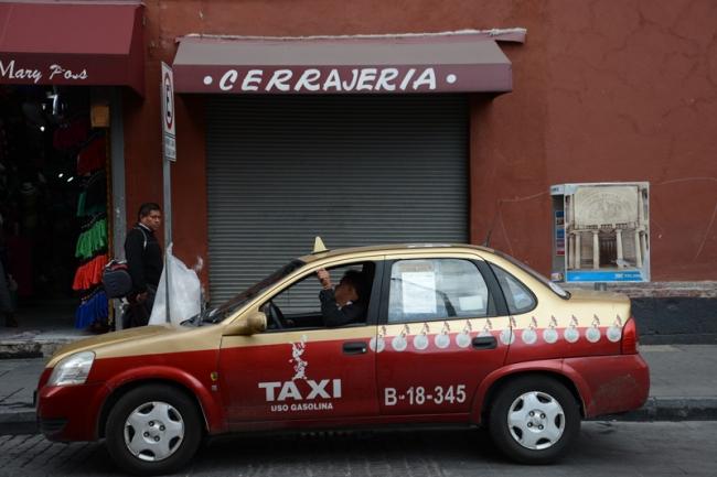 Taxi Mexiko Stadt