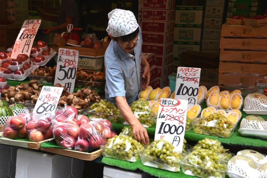 Ameyoko Markt inTokyo