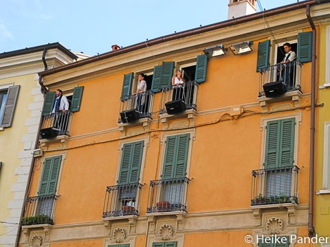 Festa dell Opera: Arien vom Balkon, Brescia