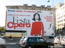 """Festa dell Opera"", Plakatwand, Brescia"
